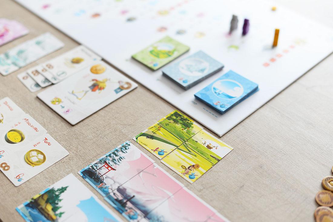 tokaido, jeu de société pour voyager depuis chez soi