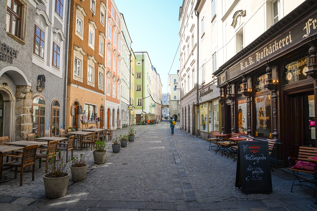 visite de Linz , autriche, centre-ville0