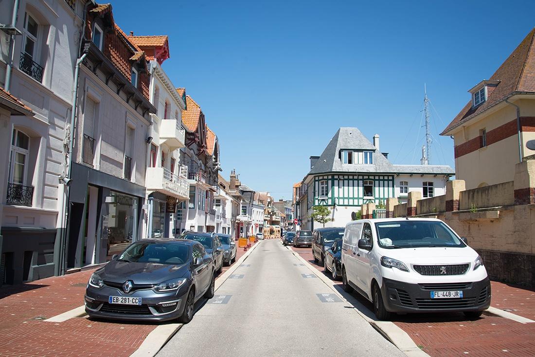 visite du centre-ville du Touquet, pas-de-calais,hauts-de-france