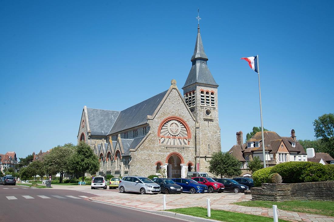 église jeanne d'arc, le touquet