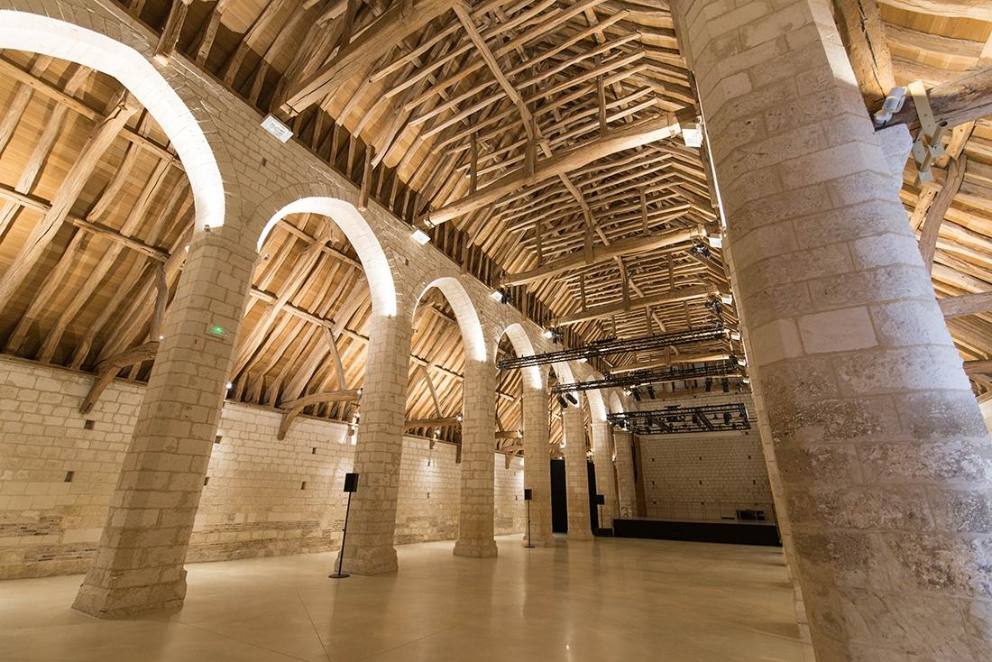 grange monastique, visite de la maladrerie saint-lazare, oise, hauts-de-france