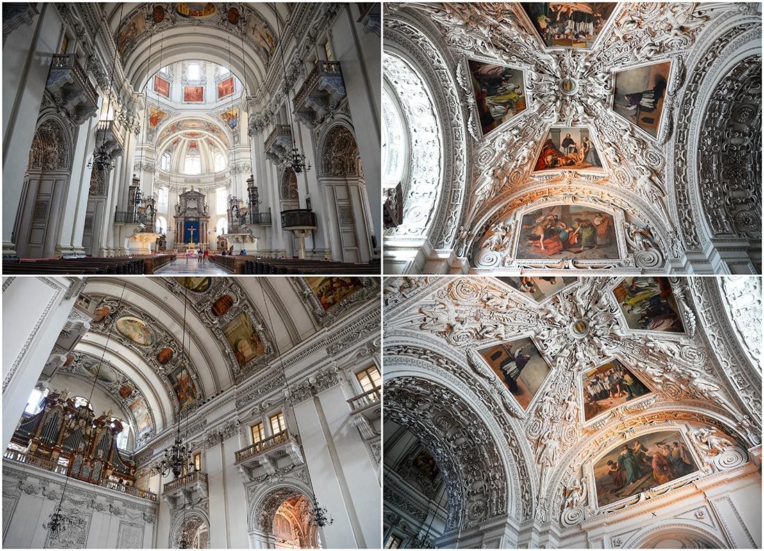 cathédrale de salzbourg , autriche