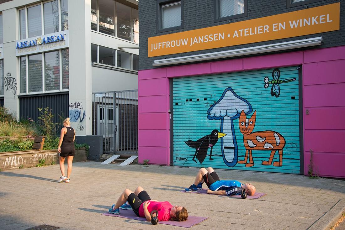 street-art, rotterdam
