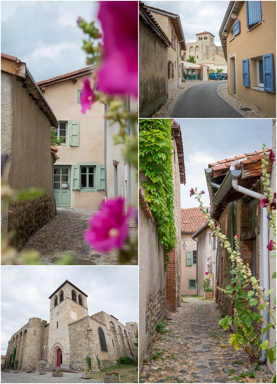 visite de champdieu, village de caractère, loire