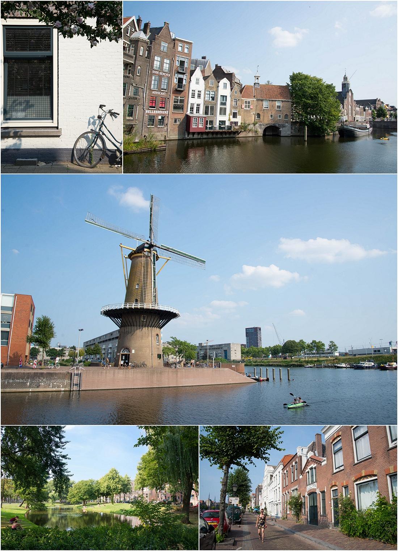 delfshaven, rotterdam, pays-bas