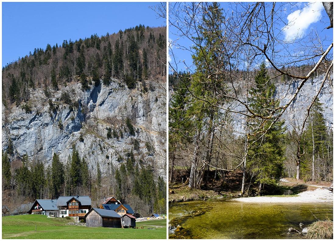lac toplitzsee, salzkammergut, autour de hallstatt