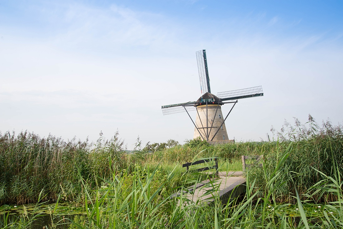 Kinderdijk, rotterdam
