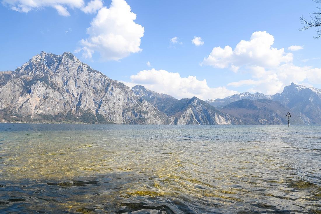 lac traunsee, salzkammergut