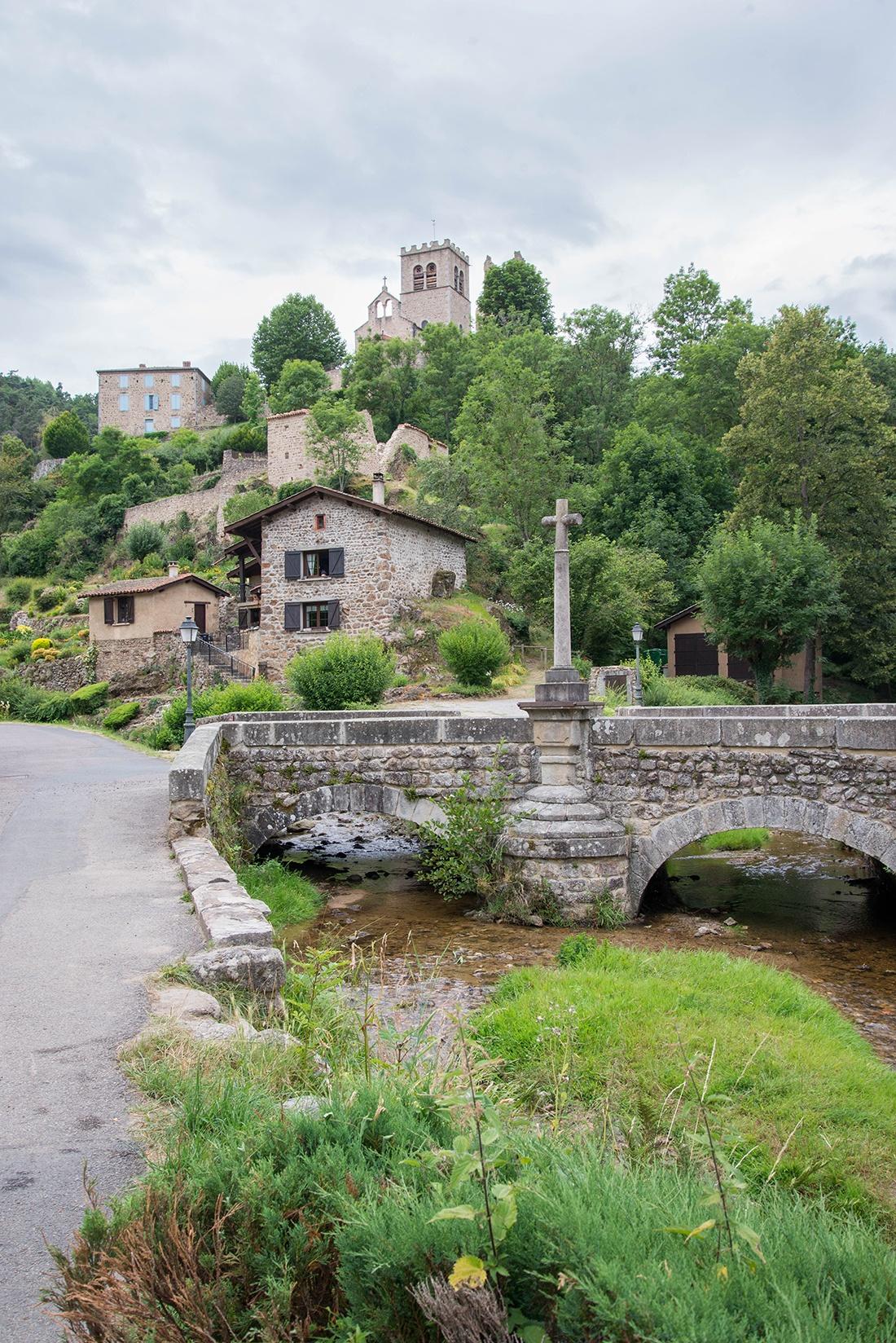 visite du Vieil Ecotay, Forez, Loire
