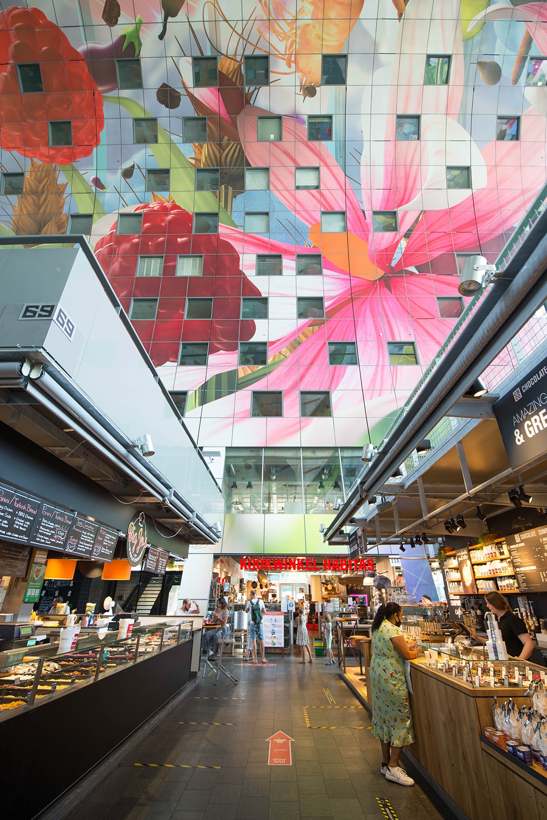 markthal, rotterdam, pays-bas