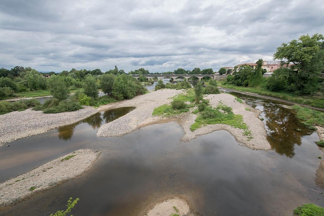 vue sur la Loire, Montrond-les-Bains