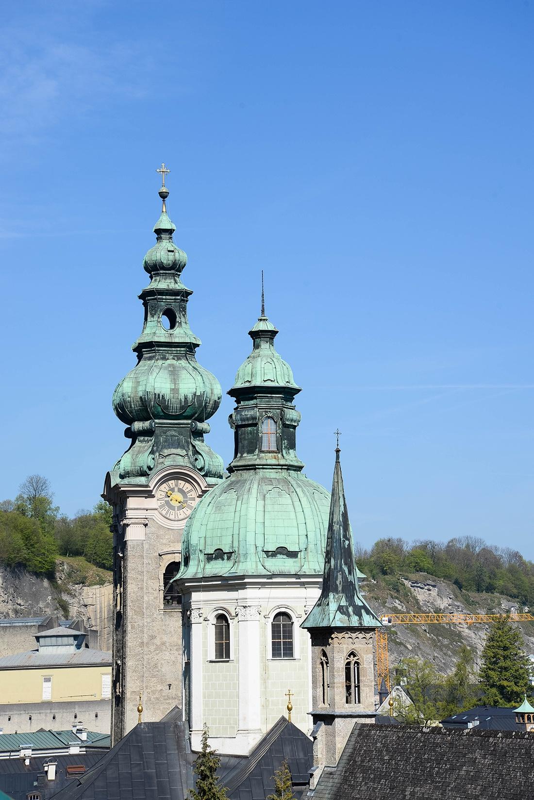 forteresse du Hohensalzburg, salzbourg