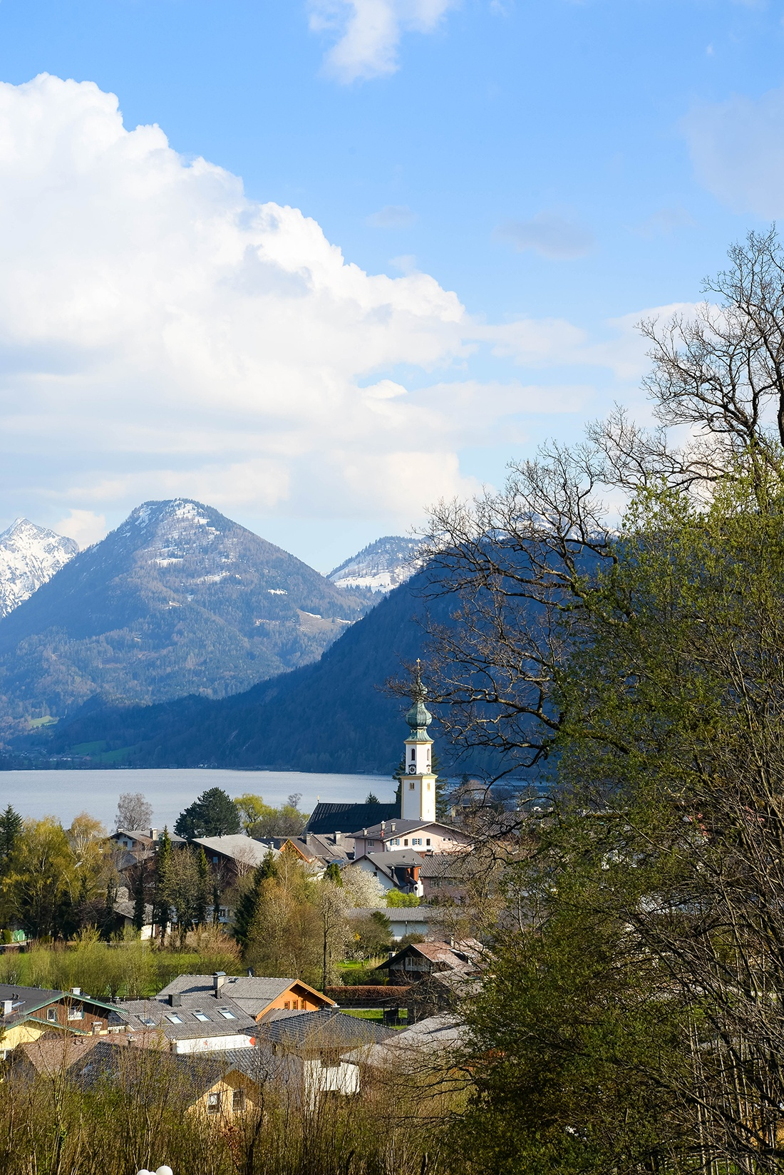 wolfgangsee, salzbourg