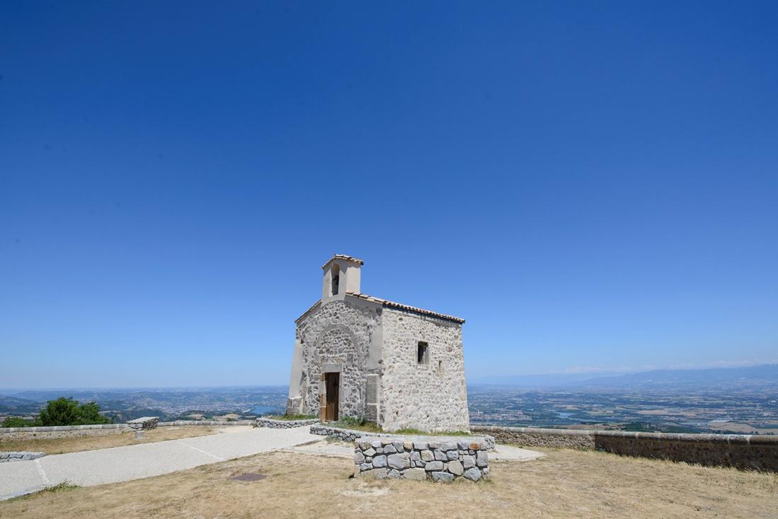 Saint-Romain de Lerps, belvédère du pic