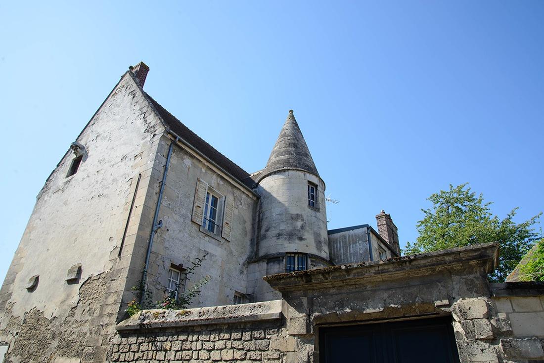 centre médiéval de crépy-en-valois , oise
