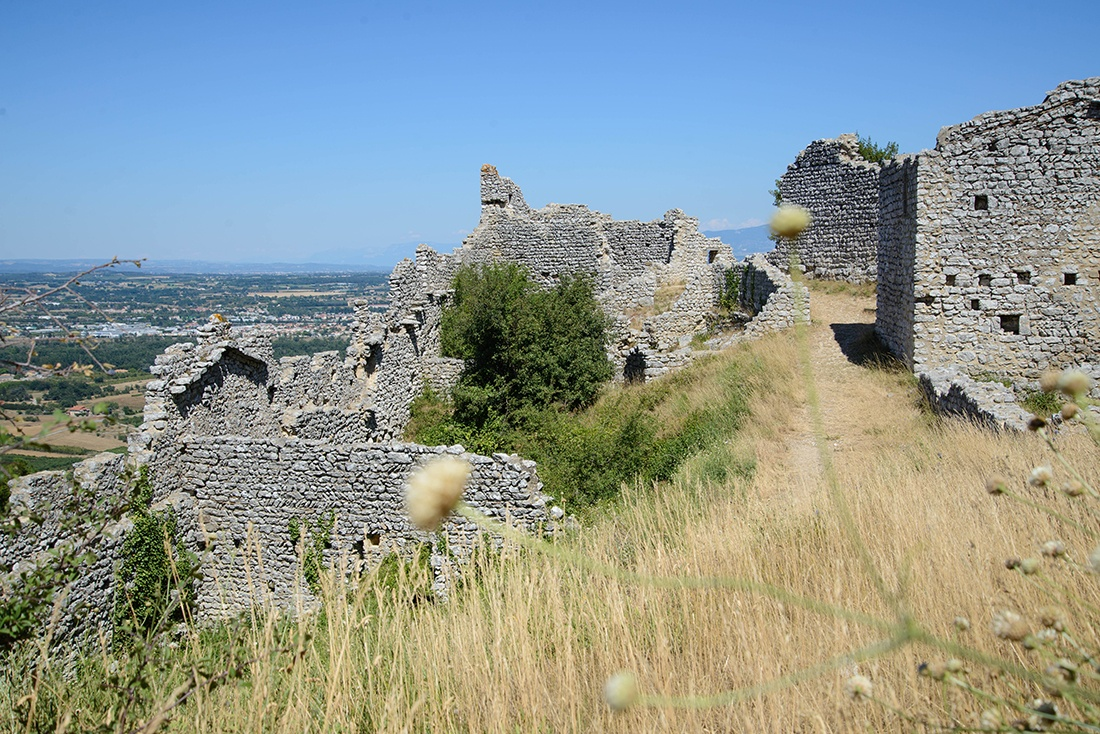 château de crussol, st peray, ardeche