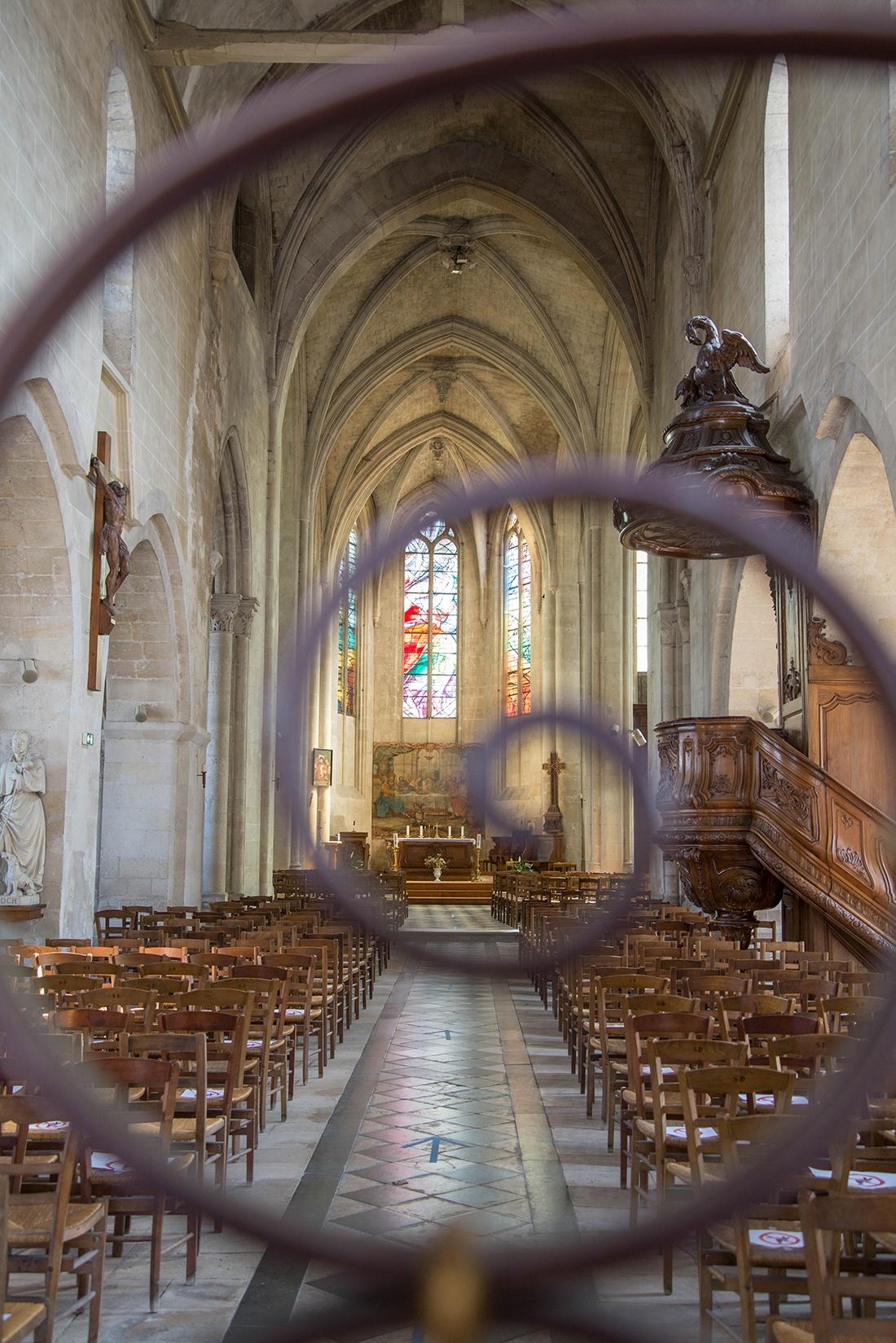 église saint-vincent, crépy-en-valois, oise
