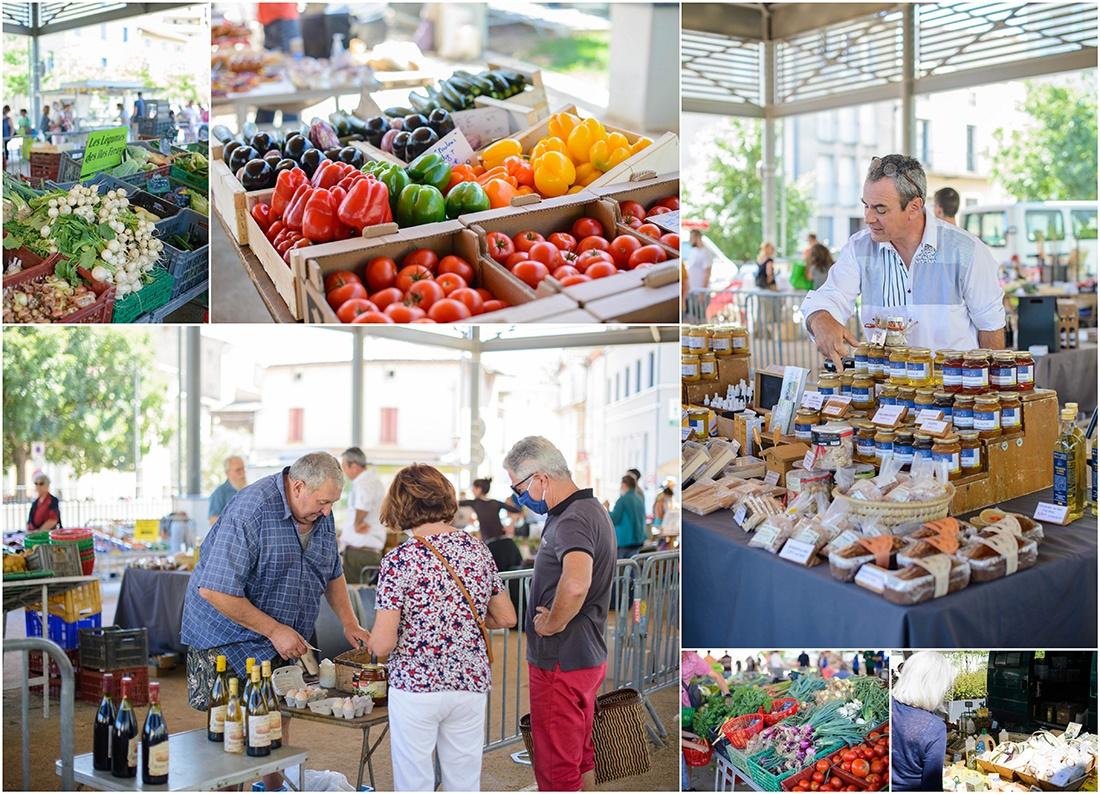 marché, tournon sur-Rhône