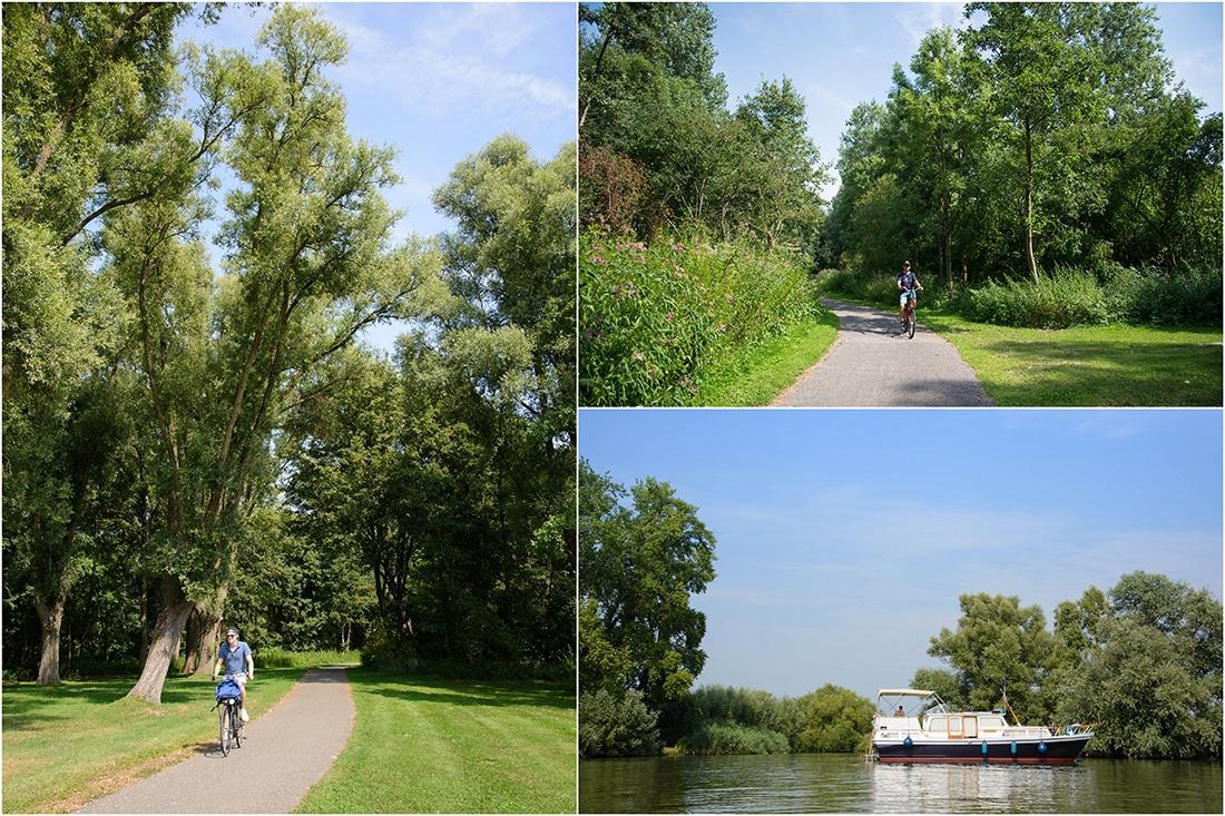 visiter le Parc du Biesbosch, pays-Bas , en bateau