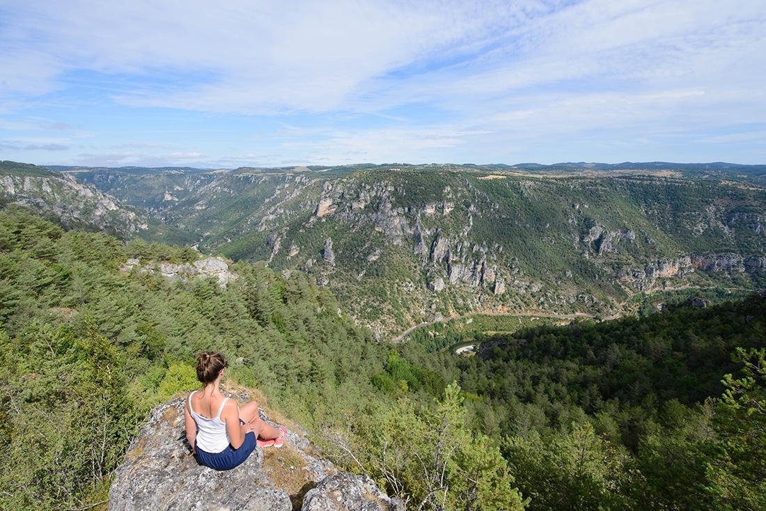 randonnée du roc des hourtous, gorges du tarn, lozère