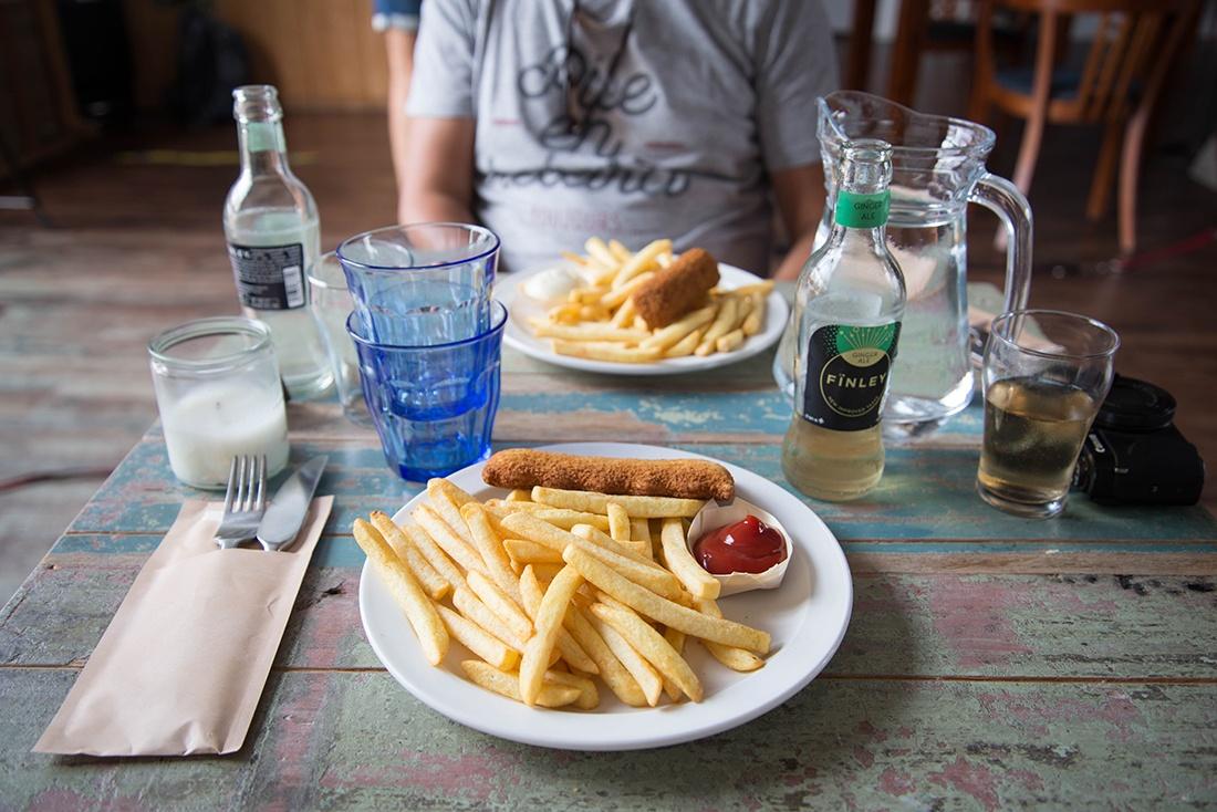 Herberg Tiengemeten,, repas au herberg tiengemeten