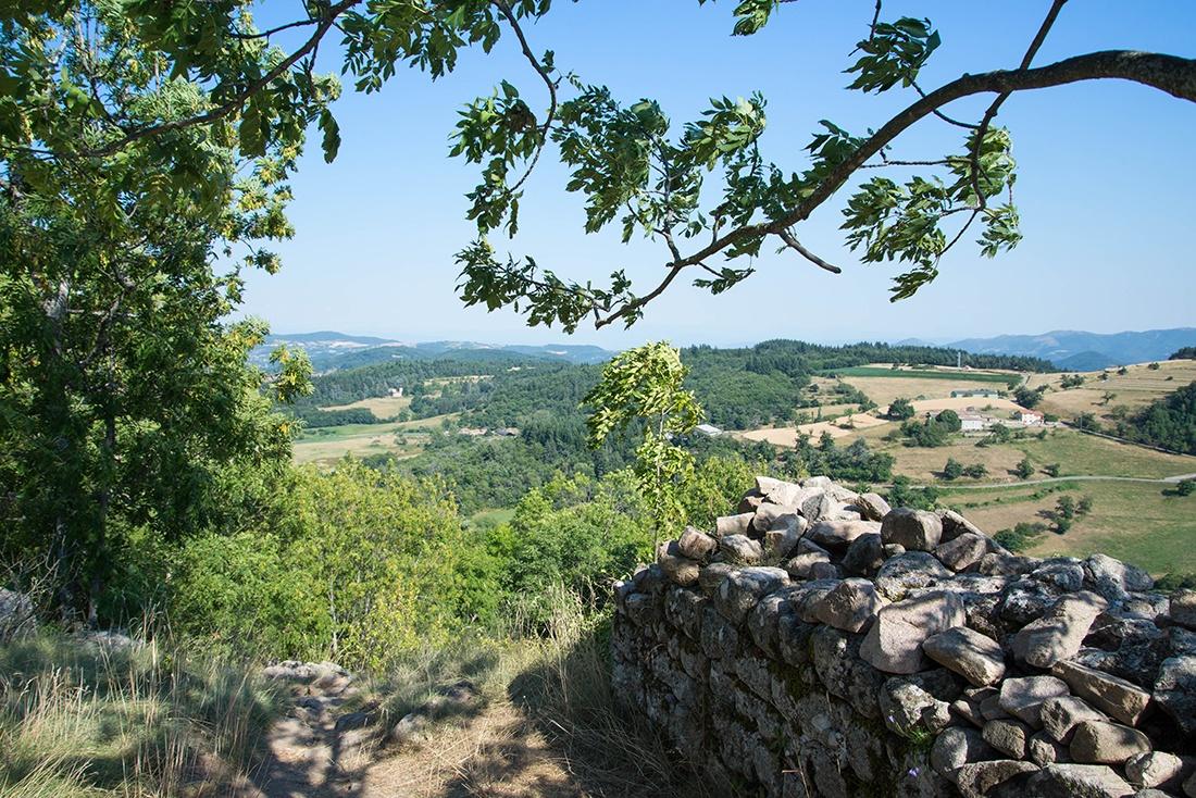 Balade à Chalencon, village de caractère en Ardèche