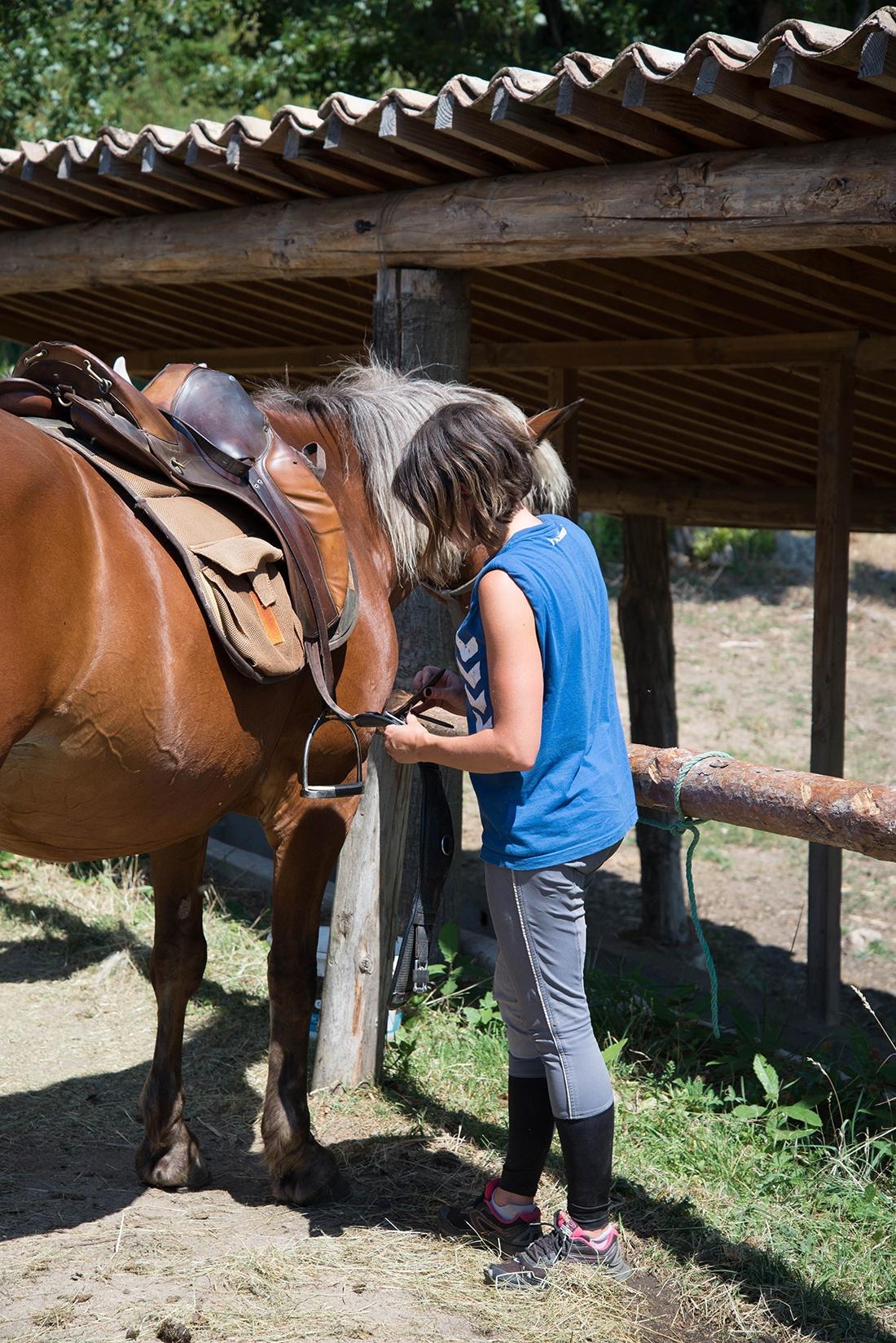 balade à cheval, Chevaux de Sarnoux, ardèche