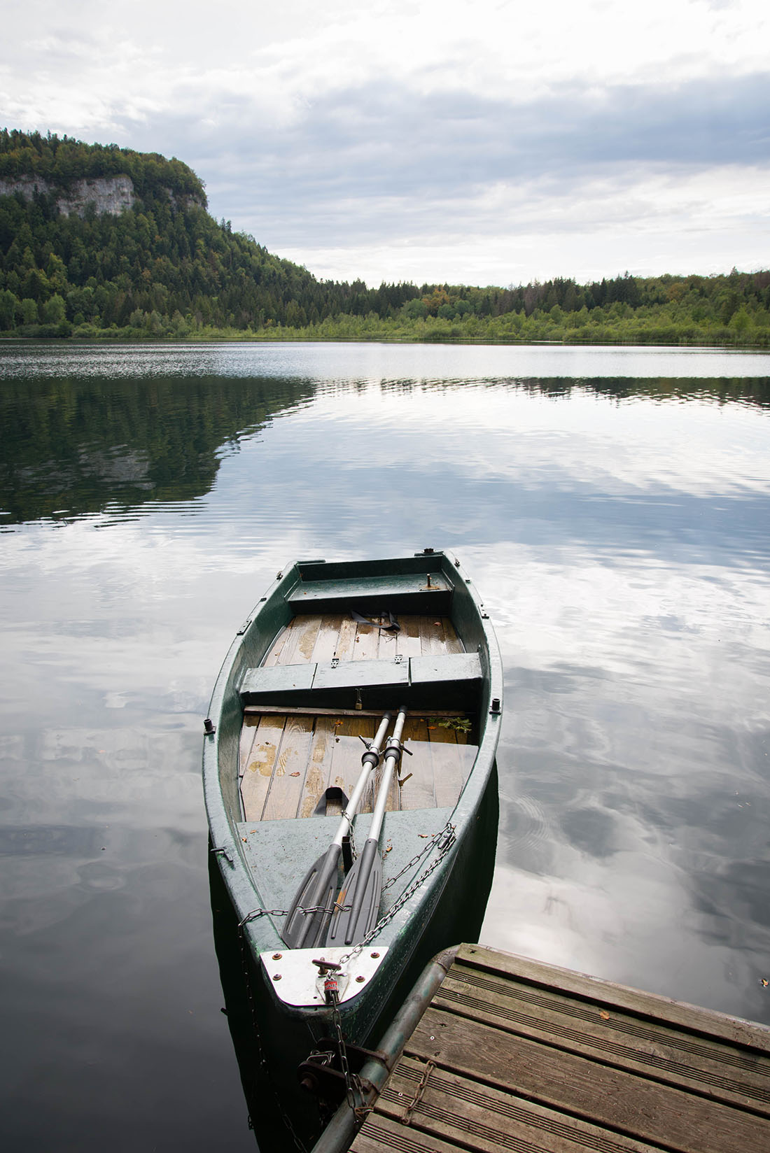 tour du Lac de Bonlieu, jura