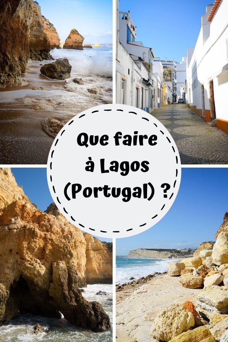 que faire à Lagos en Algarve au Portugal