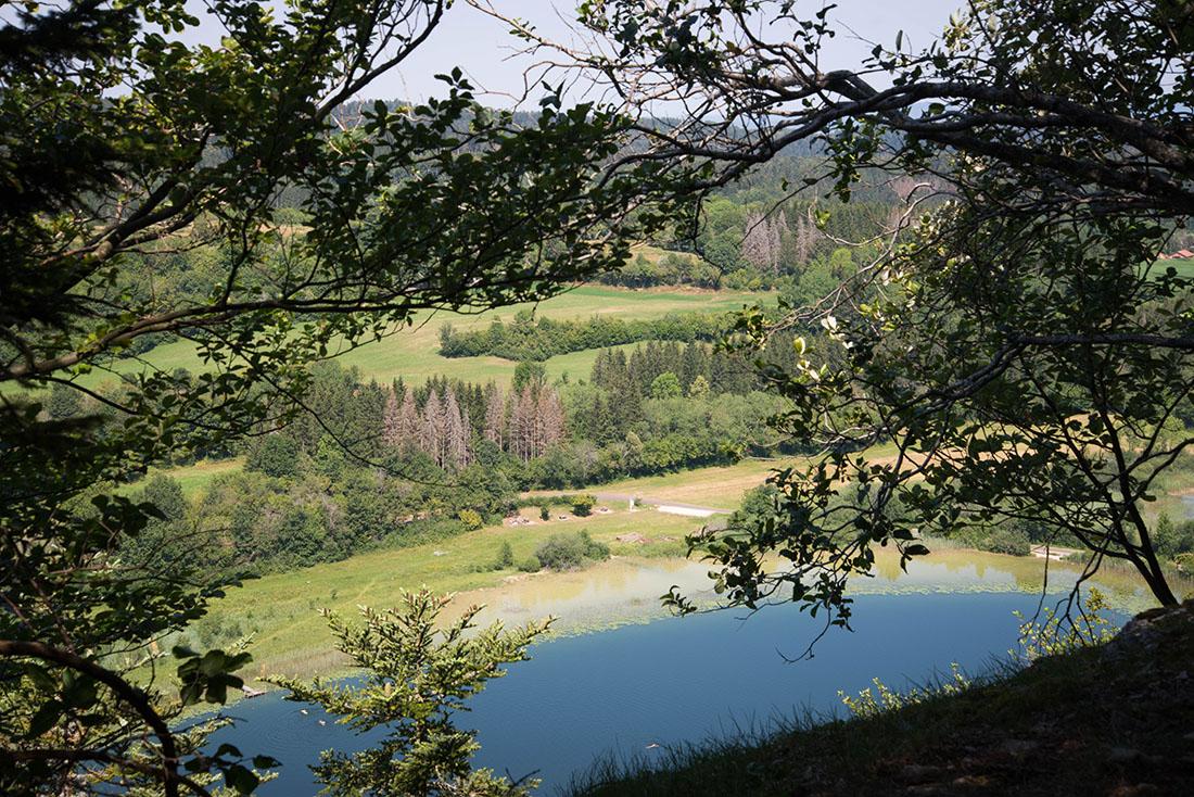 randonnée des lacs d'etival, jura
