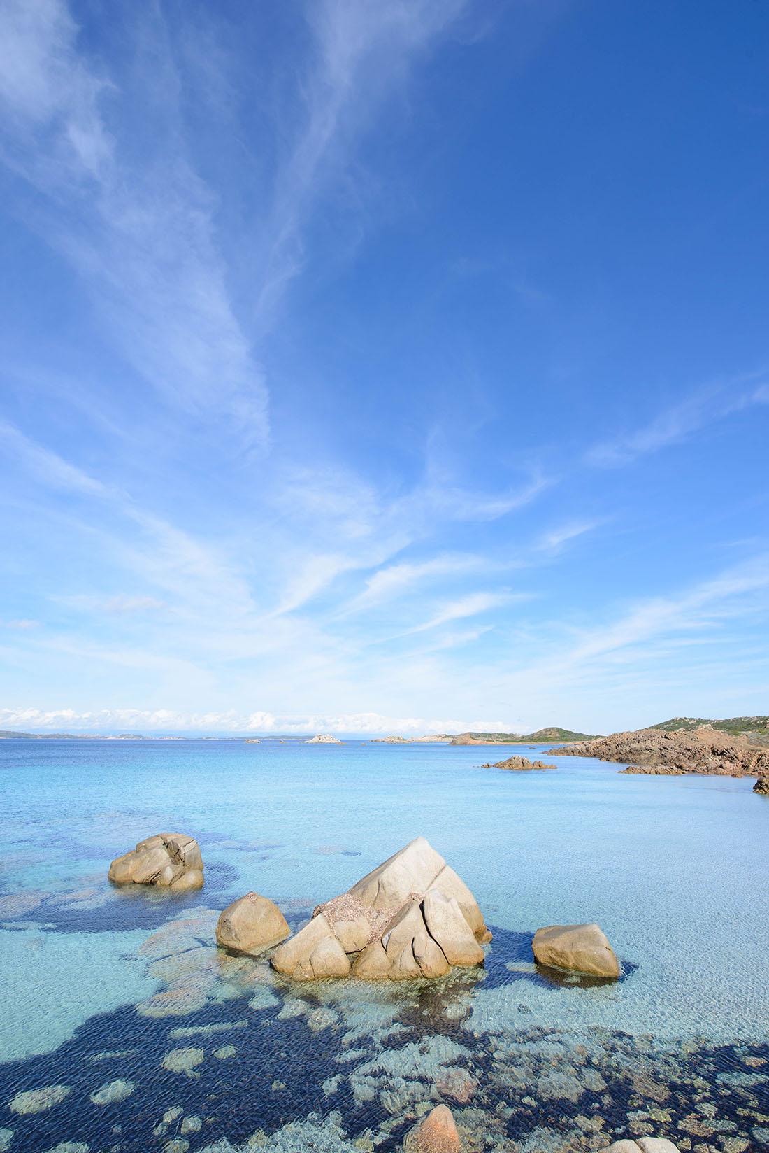 plage de Bassa Trinita, la Maddalena