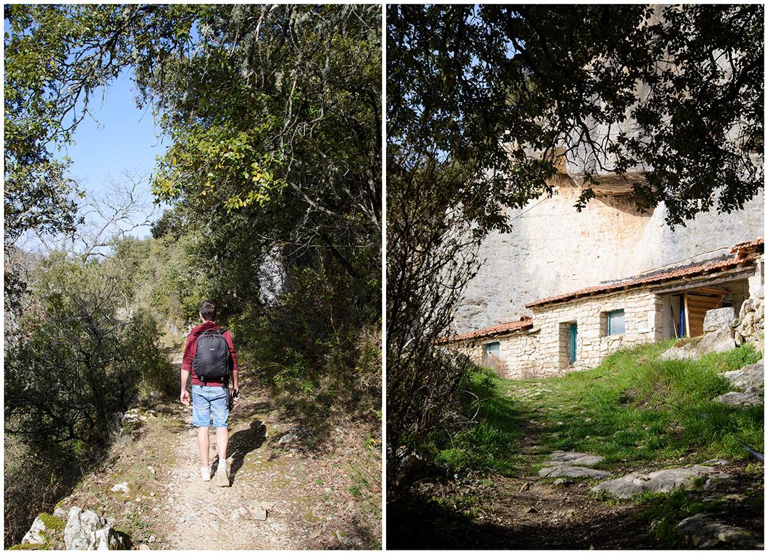 randonnée du Vallon de l'Aigue Brun, luberon