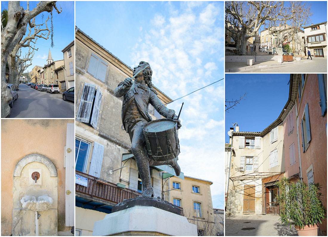 visite de Cadenet, Luberon