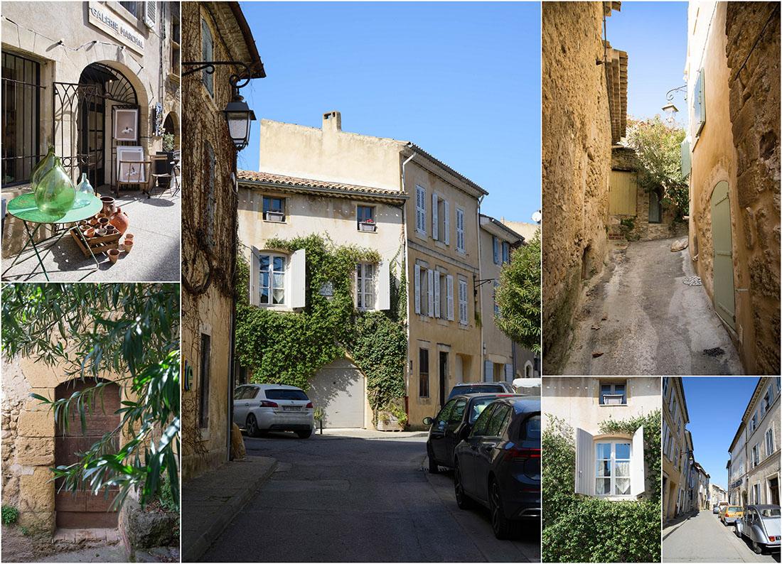 visite de Lourmarin, Luberon