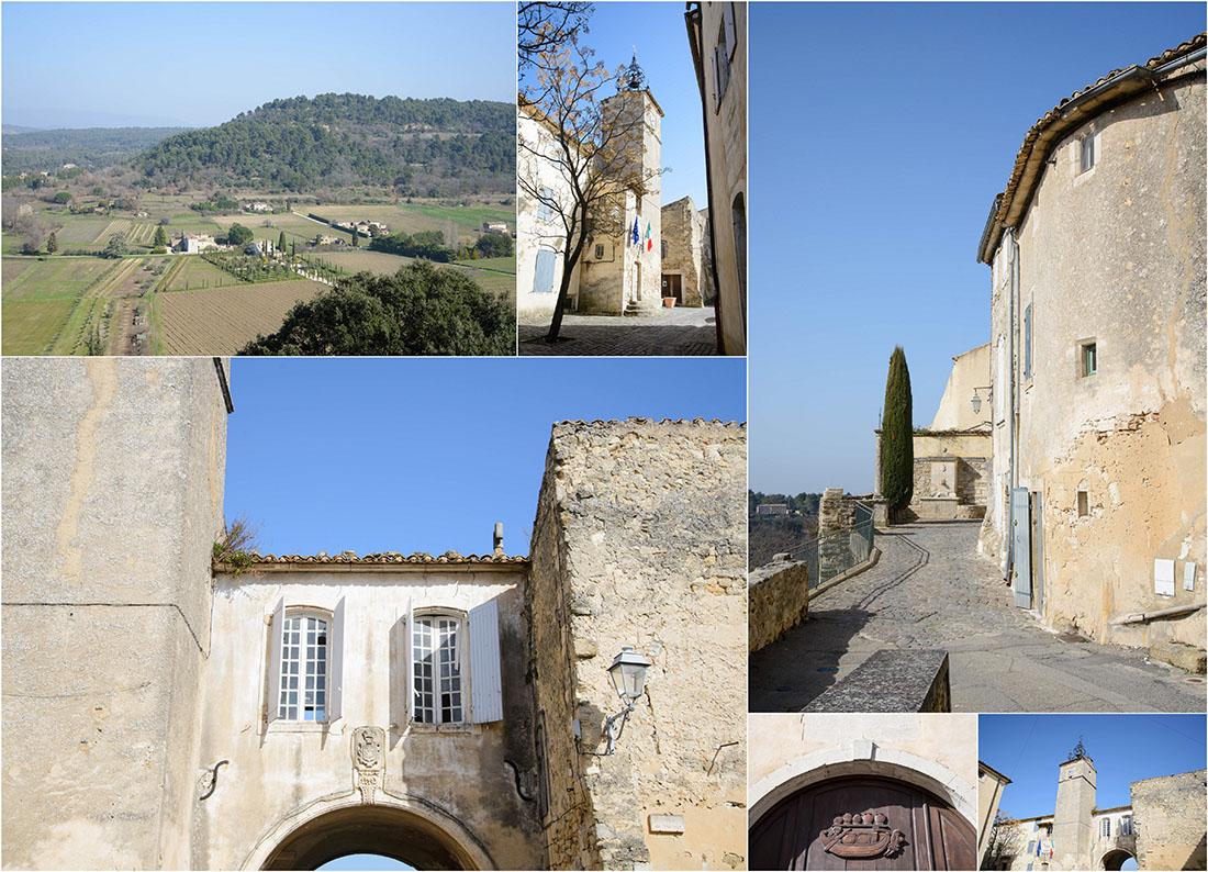 visite de ménerbes dans le vaucluse, Luberon