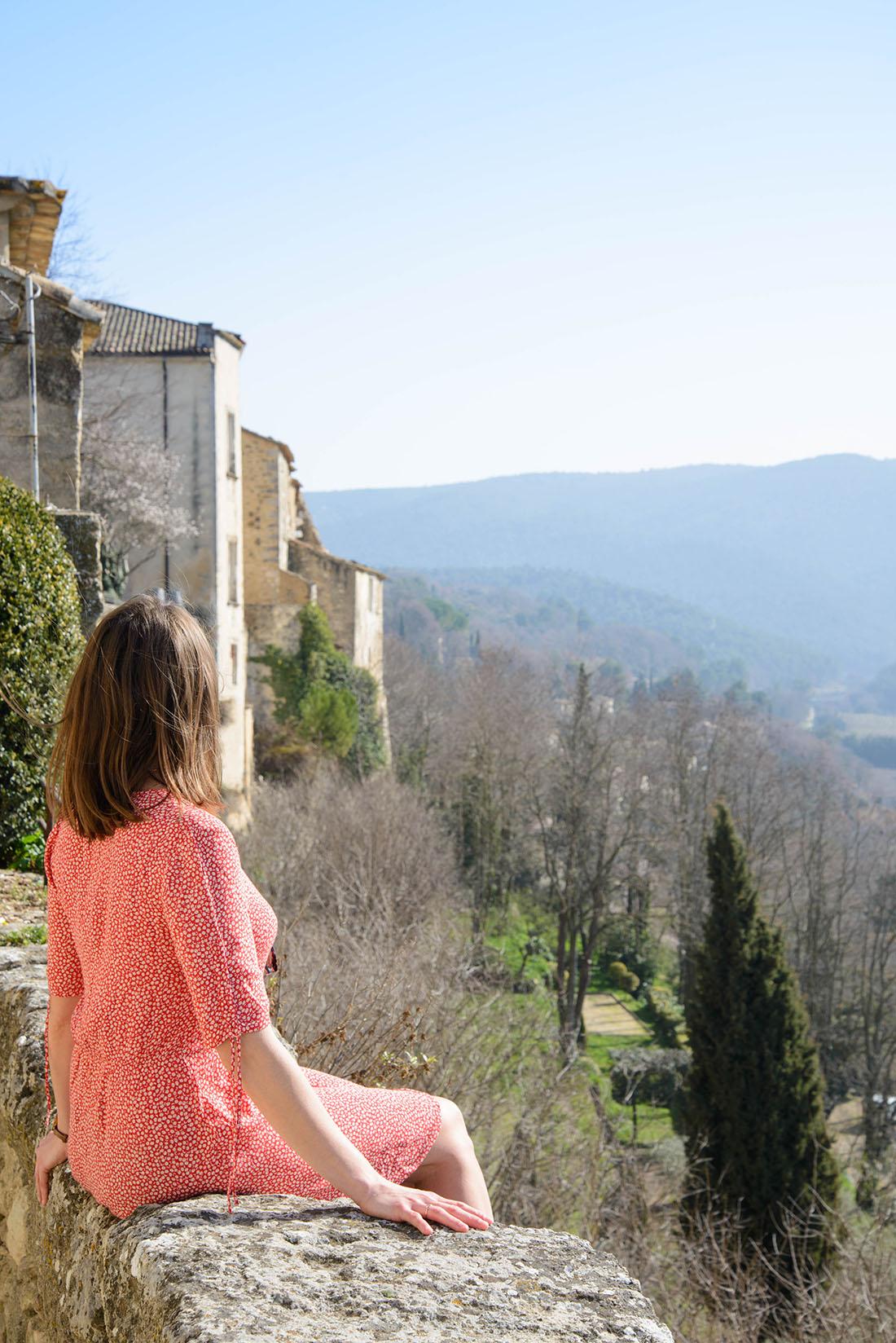 visite de ménerbes dans le Luberon