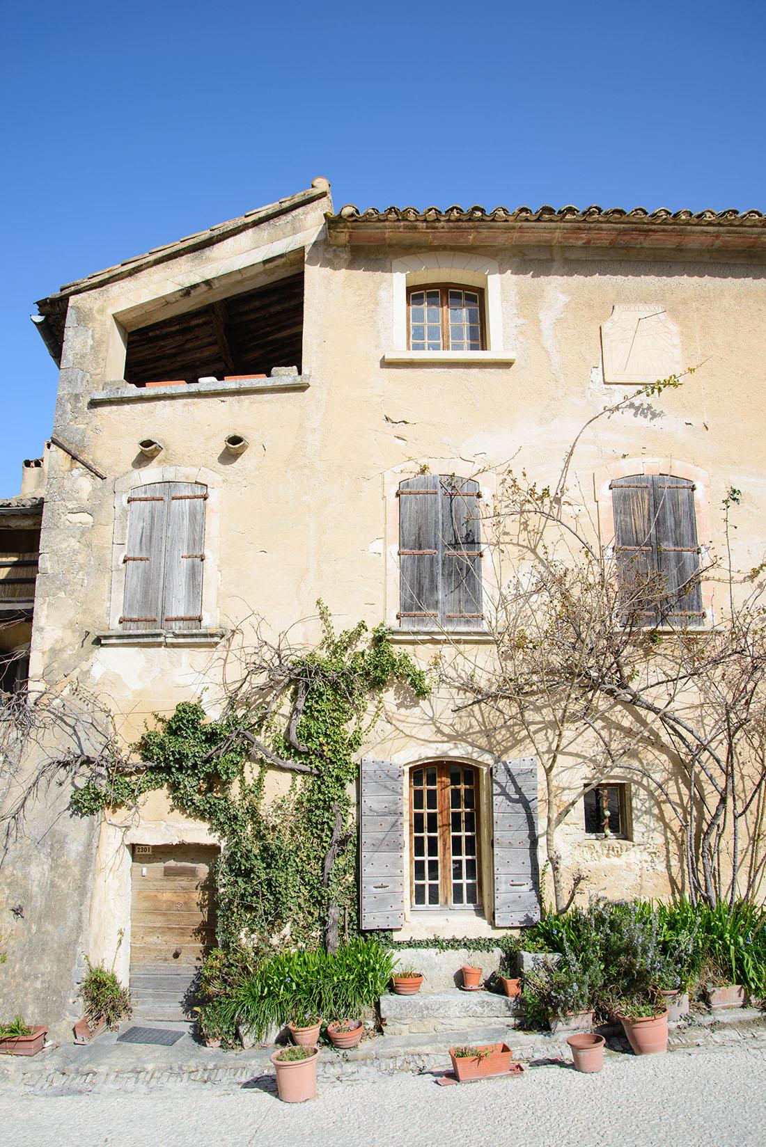 visite d'Oppède-le-Vieux, Luberon