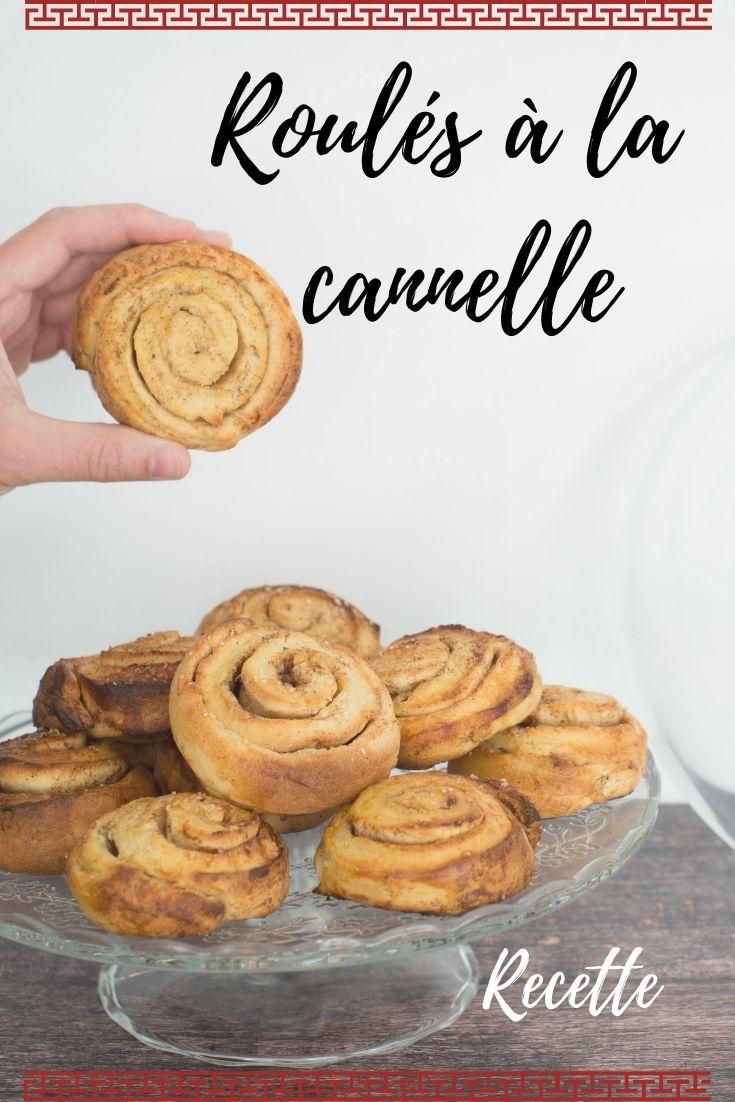 roulés à la cannelle, kanelbullar, recette