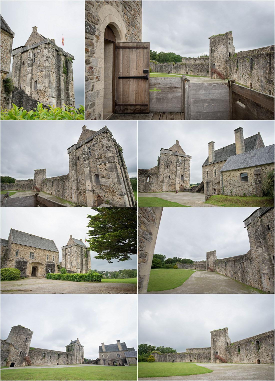 château de saint-sauveur le vicomte, cotentin