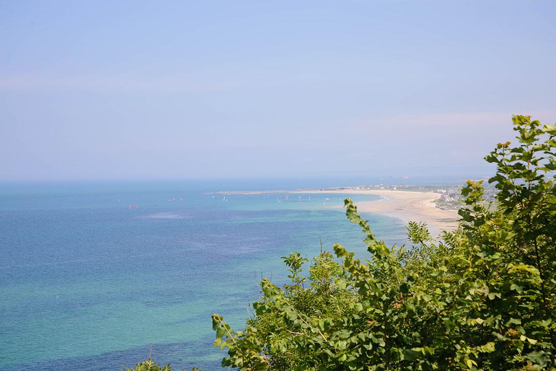 panorama de Landemer (autour de Cherbourg)