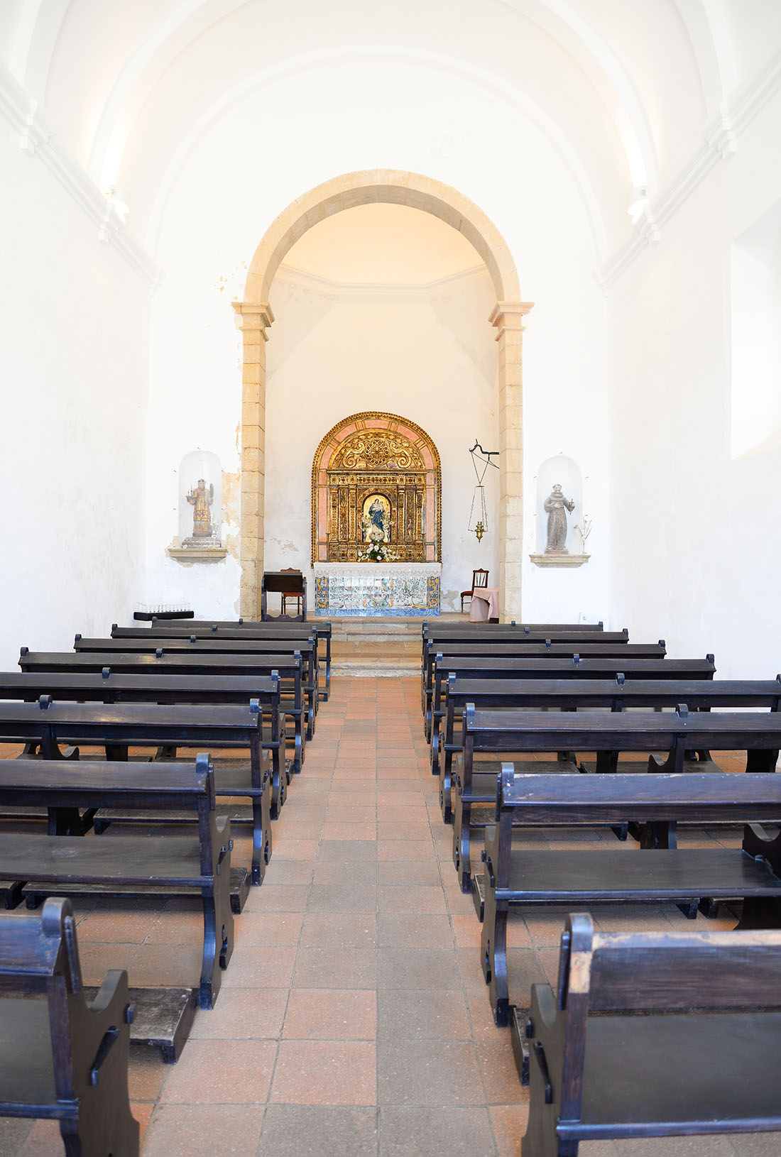 église paroissiale de Nossa Senhora de Graca, forteresse de sagres, algarve