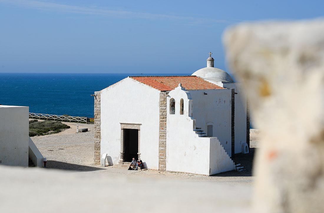 église paroissiale de Nossa Senhora de Graca, forteresse de sagres