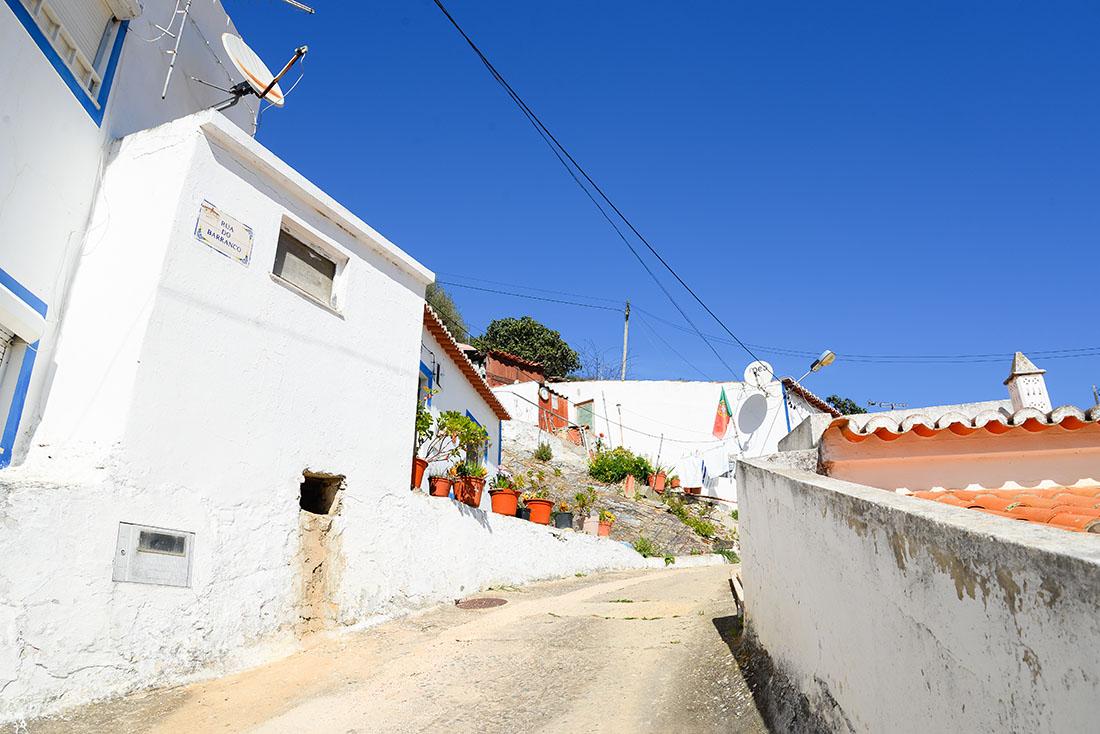 visite du village d'aljezur en Algarve