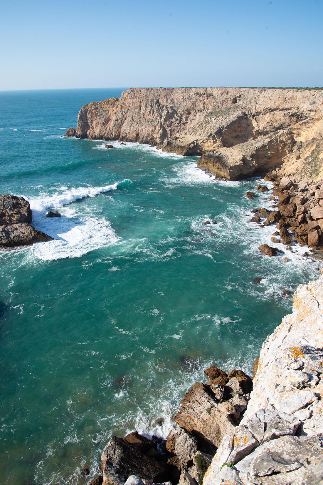 visite du Cap Saint-Vincent , Algarve