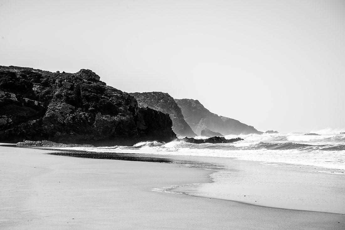 visite du village d'odeceixe en Algarve : plage